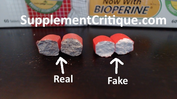 real vs fake vigrx plus pills