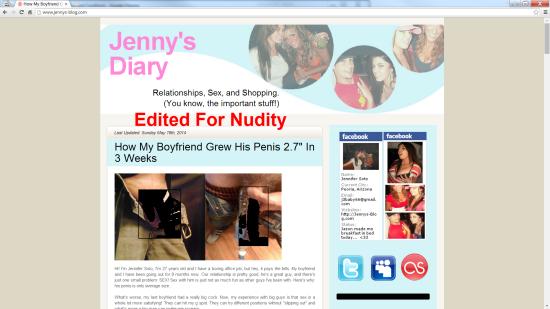 jenns blog fake