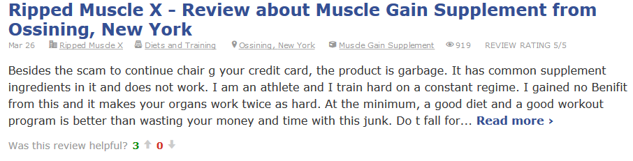 ripped muscle x real review