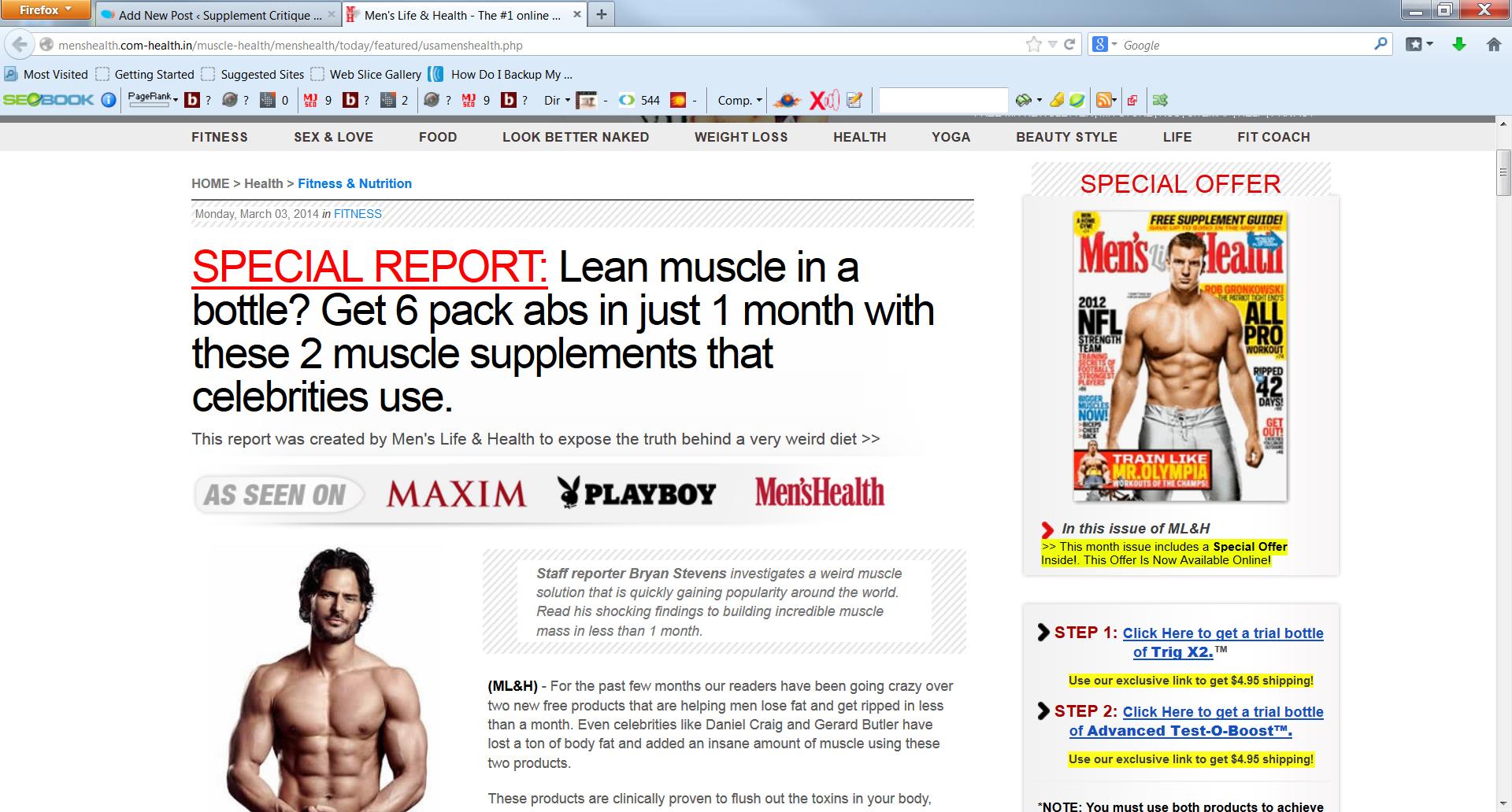 fake mens health article