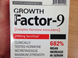 growth factor 9 at gnc