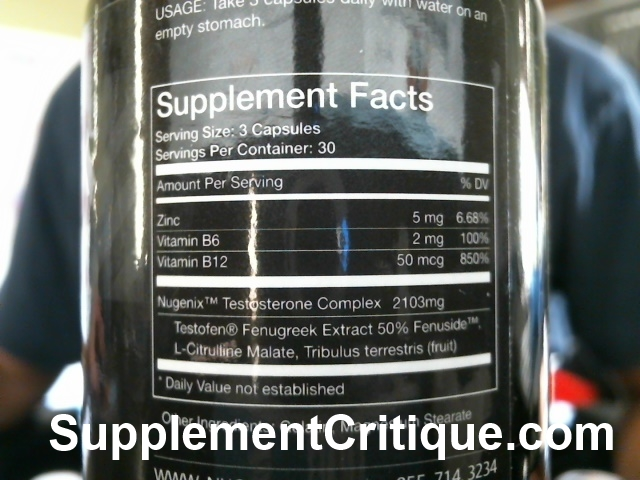 Nugenix Review - My Personal Results | Supplement Critique