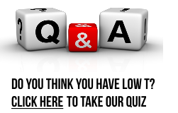 Take Our Low Testosterone Quiz!