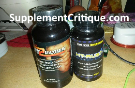 no2 maximus and ht rush review