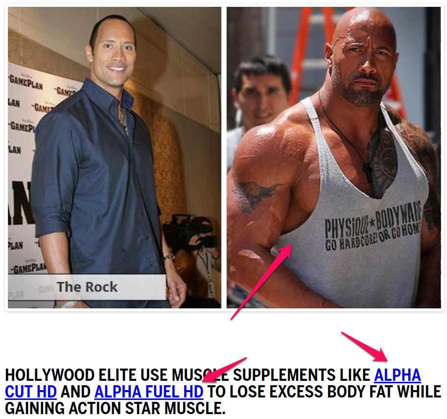 alpha fuel the rock
