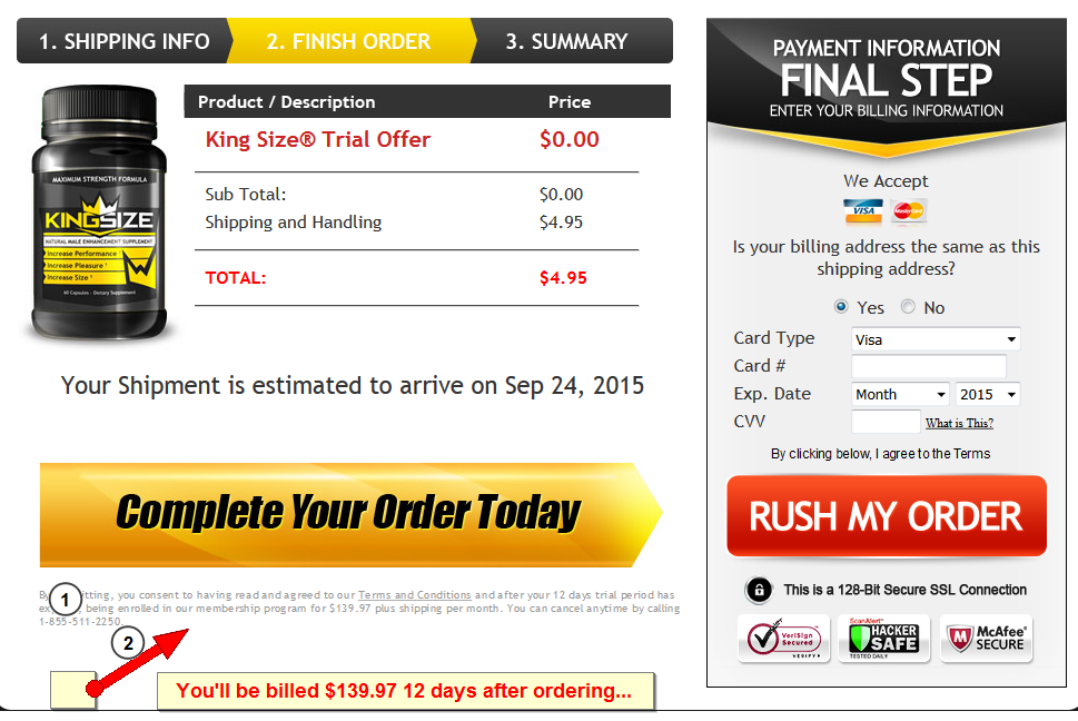 king size male enhancement review worth it supplement critique