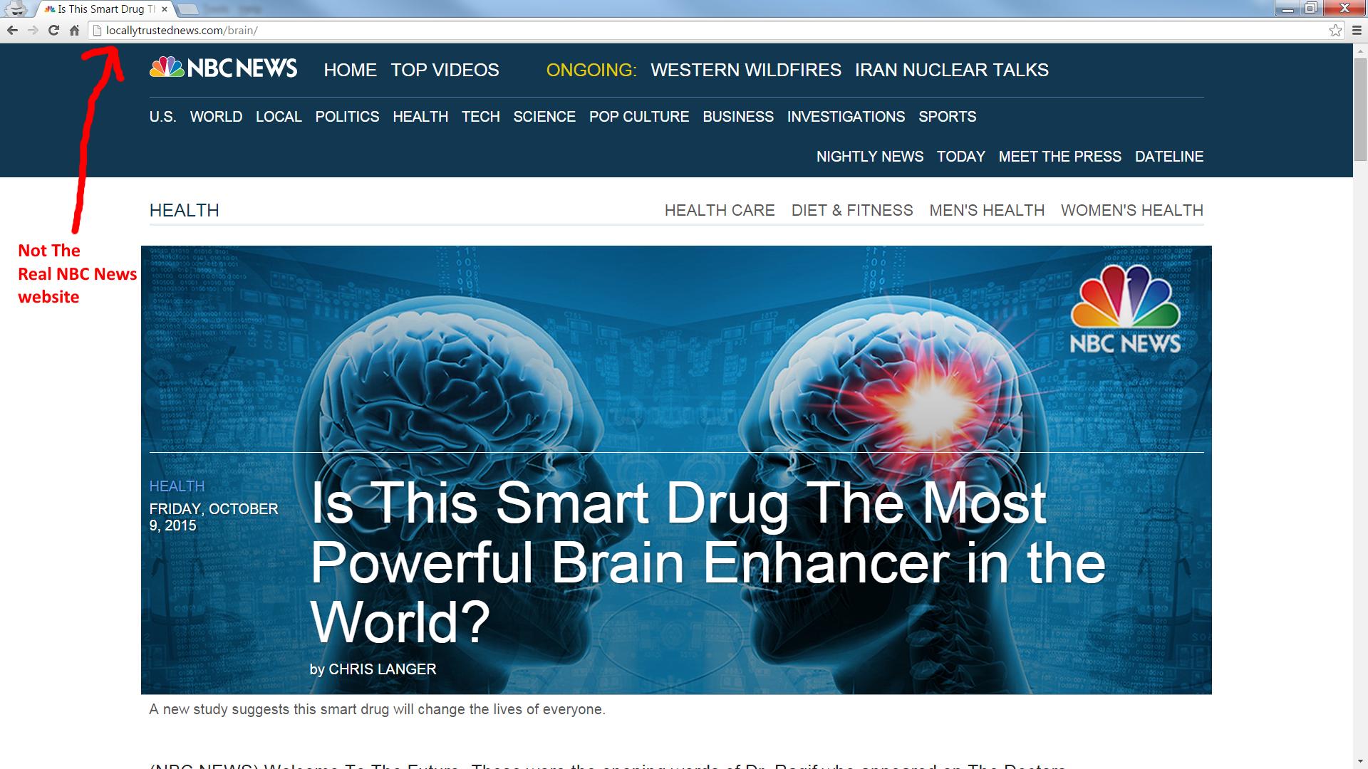 cogniflex nbc news