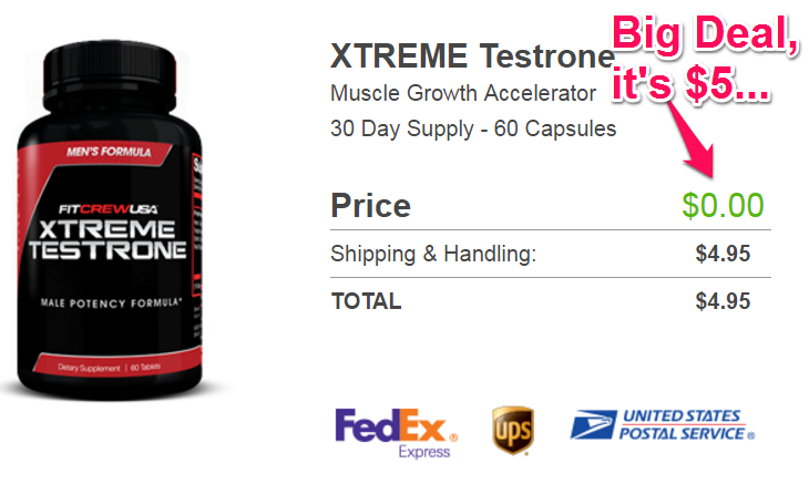 xtreme testrone free trial