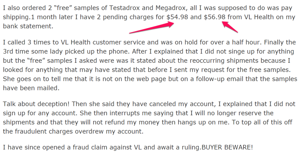 megadrox and testadrox scam