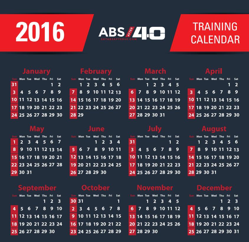 abs after 40 calendar