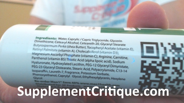 man1 man oil ingredients label