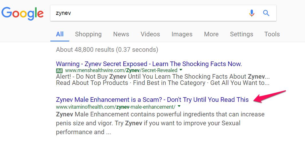 zynev-google-search