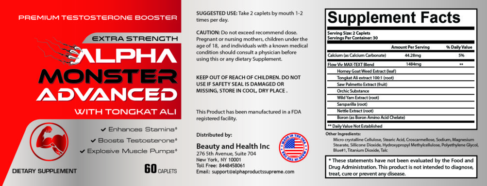 alpha monster advanced ingredients