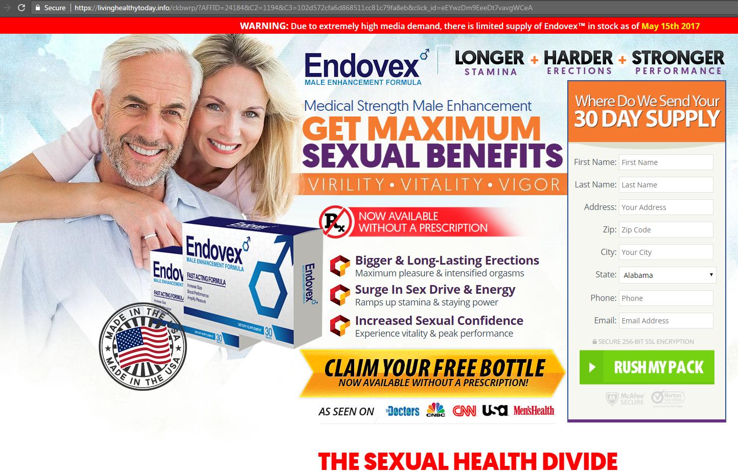 endovex website