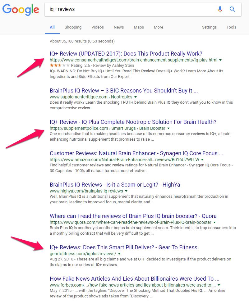 iq+ reviews on google