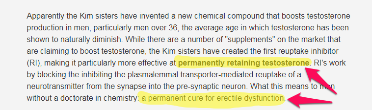 kim sisters invent permanent ed cure