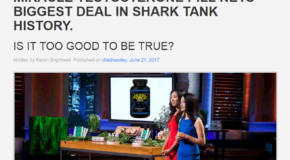 No, Shark Tank Did NOT Feature Some Testosterone Booster