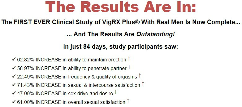 vigrx plus clinical study page