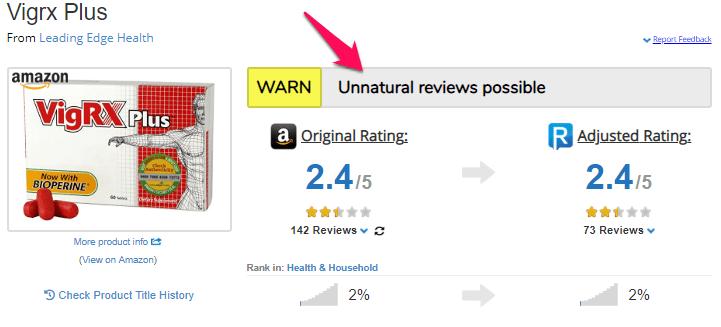 vigrx plus review meta rating explained