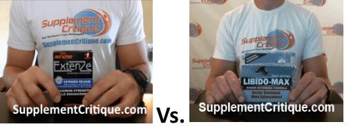 libido max vs extenze