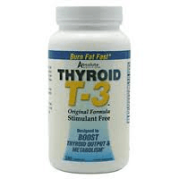 Absolute Nutrition Thyroid T-3 Review