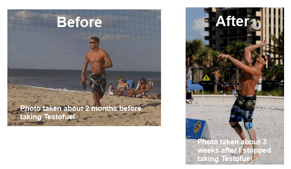 Testofuel avant et après