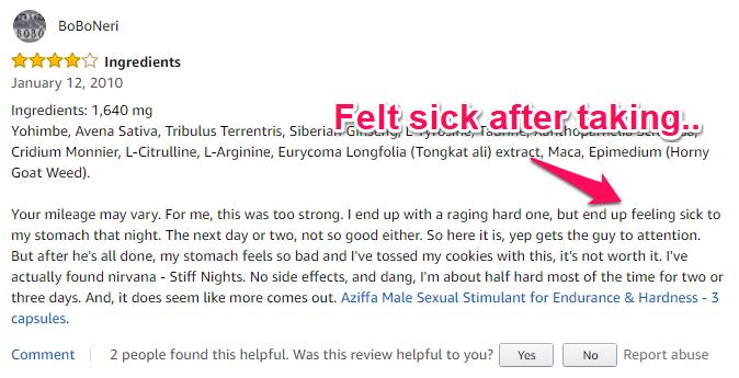 max hard negative review