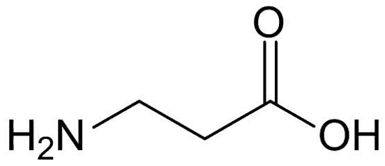 chemical structure of beta alanine
