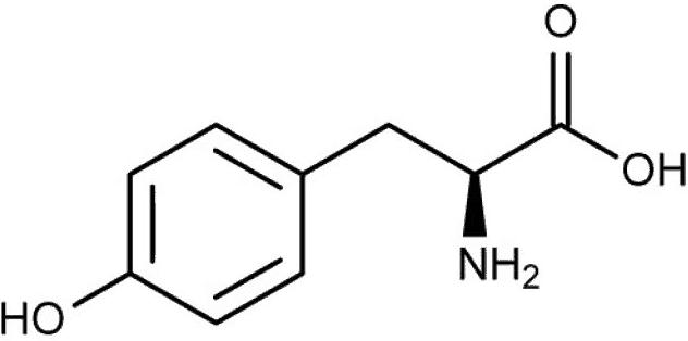 l tyrosine chemical structure