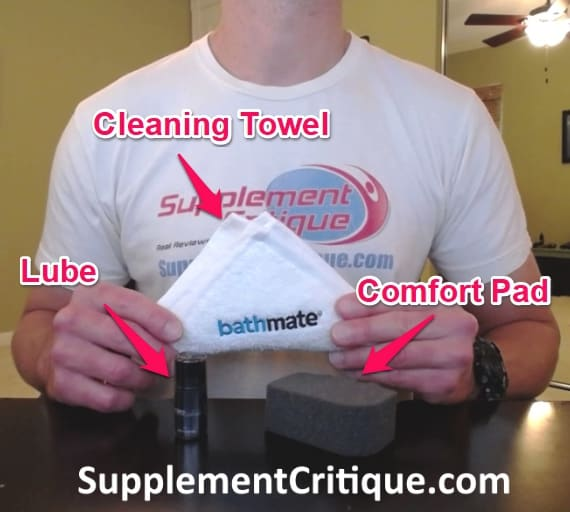 bathmate cleaning kit and lube