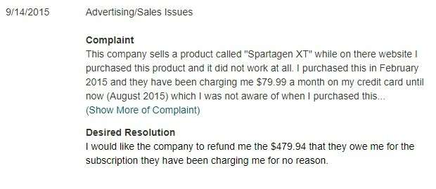 Spartagen Xt Review 3 Big Reasons To Avoid Updated 2018