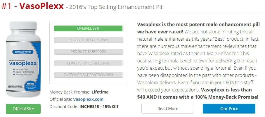 vasoplexx is #1 according to them