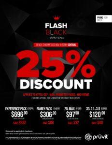 Pruvit Keto OS Black Friday sales