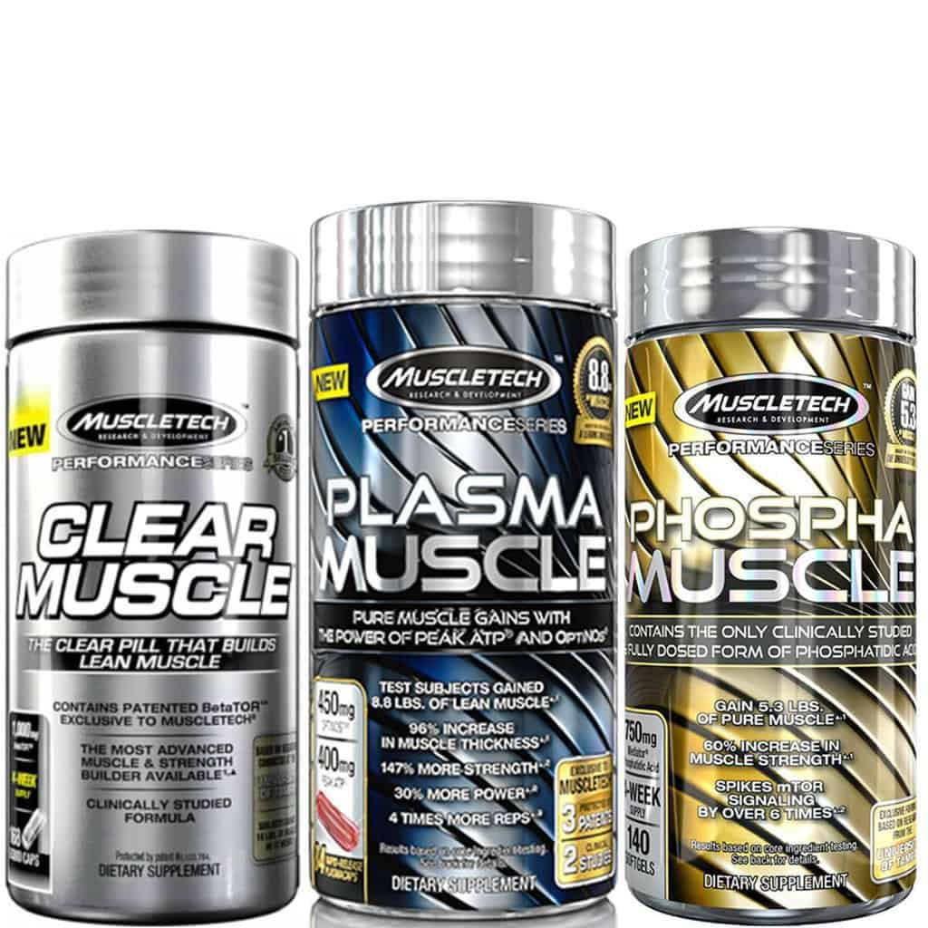 "MuscleTech's ""Trilogy"" stack"