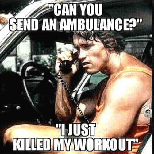 Kill your workouts like Arnold