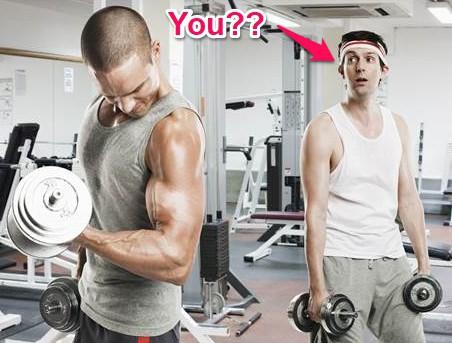 gym intimidation