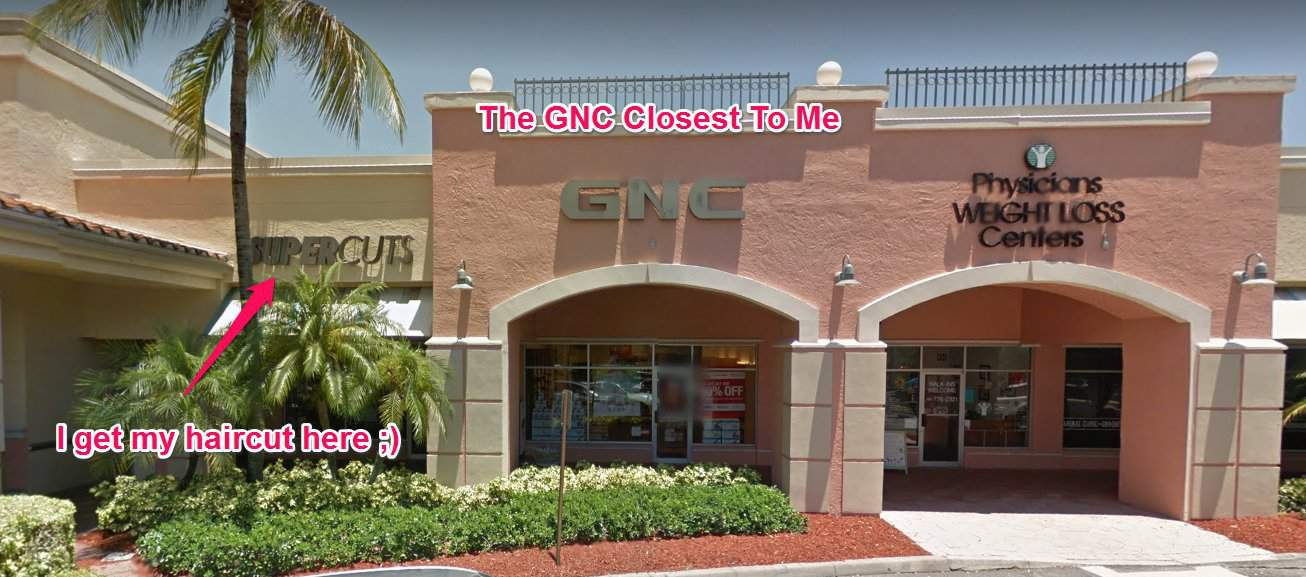 gnc by my house