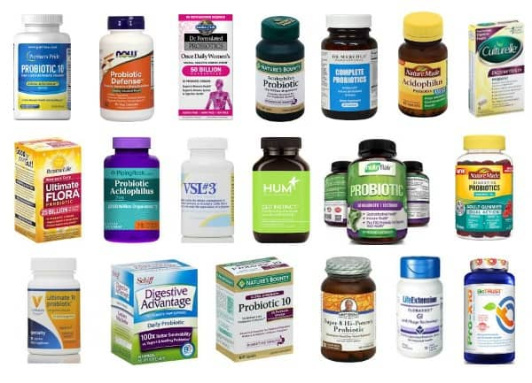 probiotic supplements you'll find on the internet