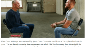 No, Conor McGregor Did NOT Use That Supplement