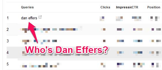 who is dan effers