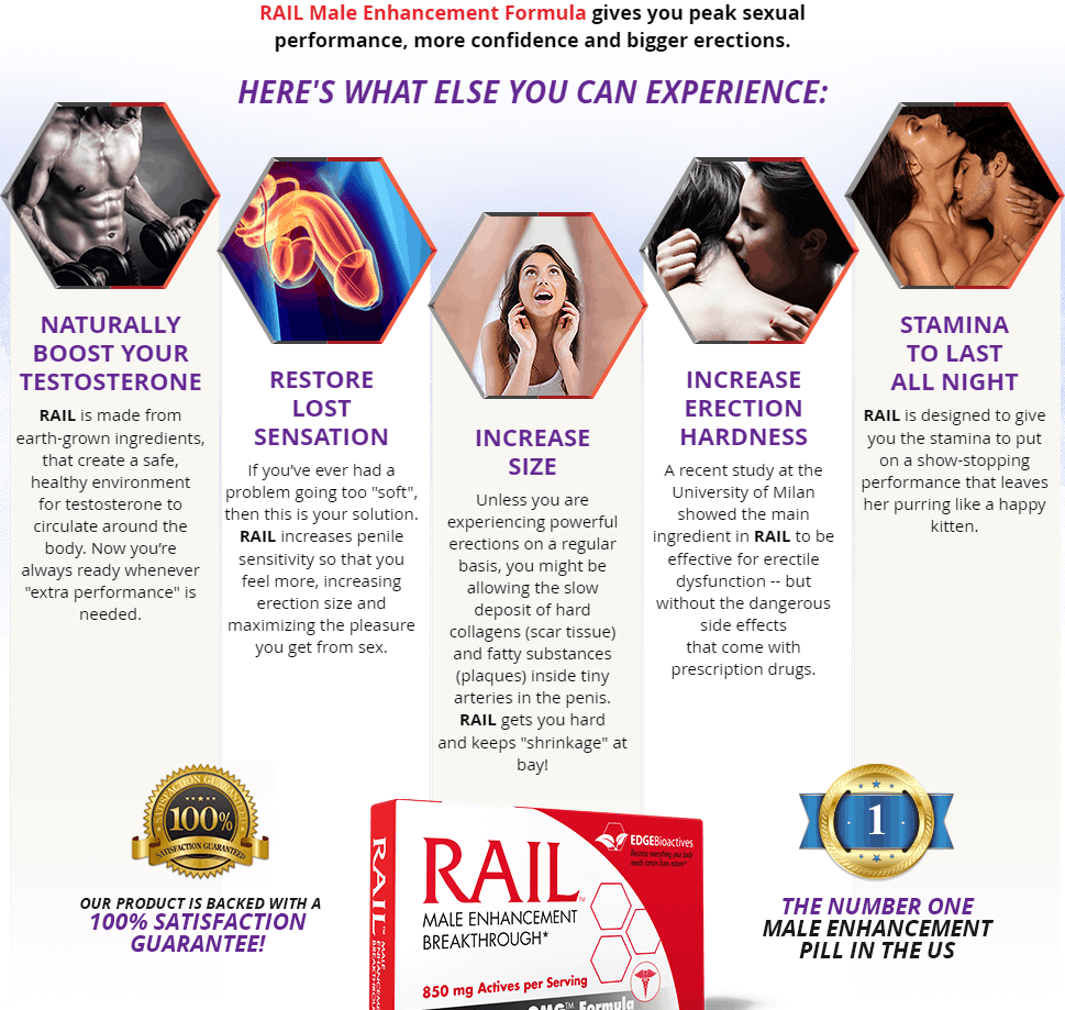 rail male enhancement claims