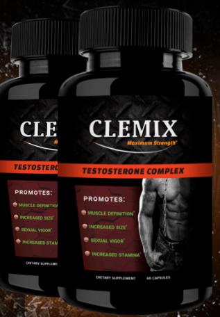 Clemix Black Bottle Image
