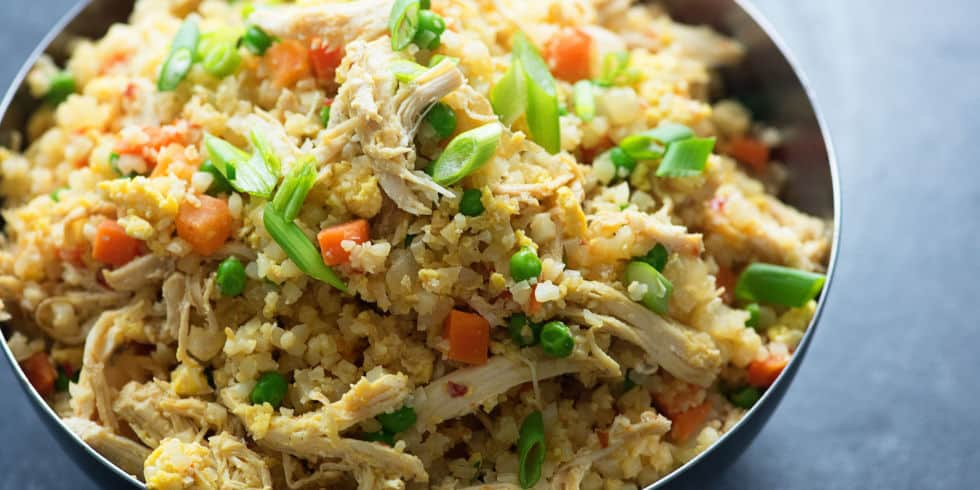 Testoterone Foods Cauliflower Fried Rice