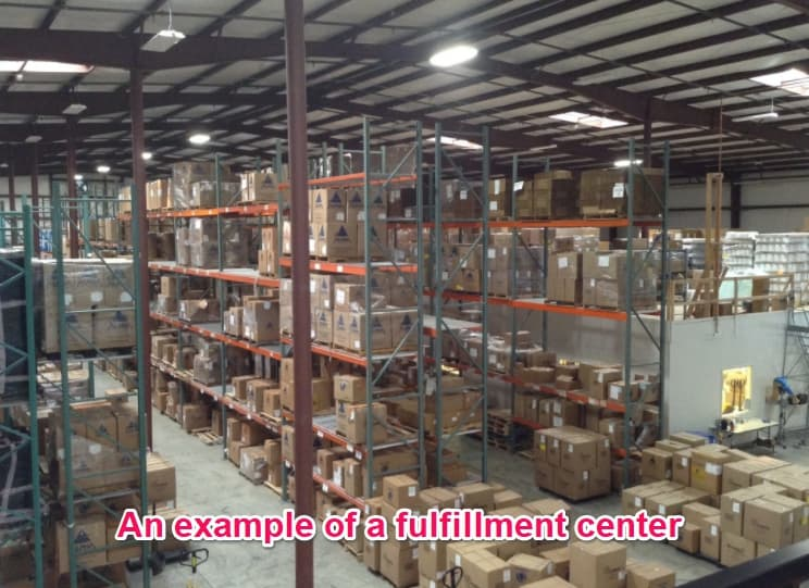 example of a fulfillment center