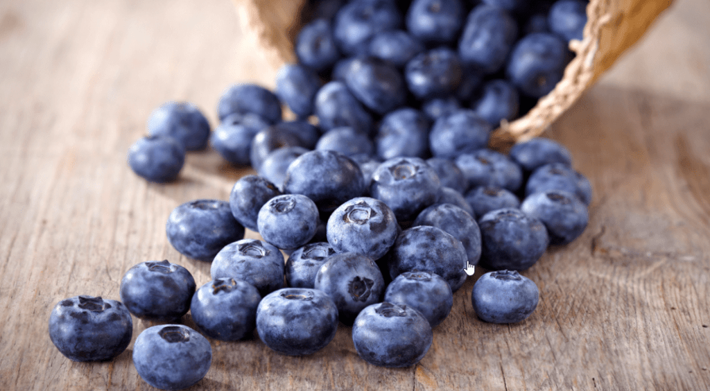 blueberries and testosterone