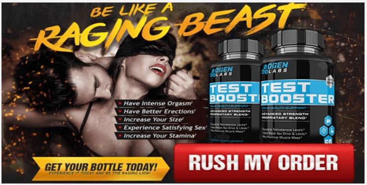 Ogen Labs Testosterone Booster Rush My Trial Image