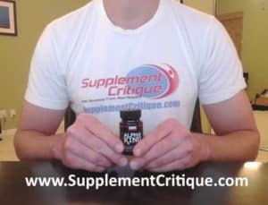 alpha king testosterone review