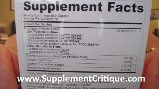 peptiva ingredients label