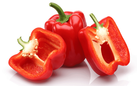 red bell peppers for increased testosterone