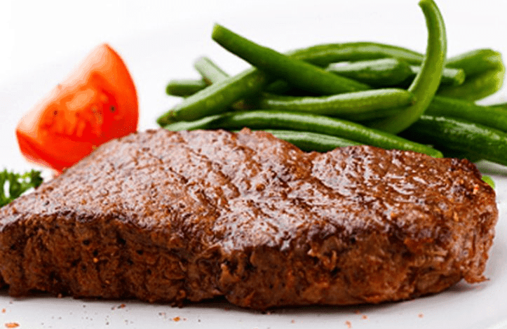 sirloin steak increases teestosterone